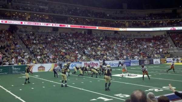 Wells Fargo Arena, section: 118, row: e, seat: 2