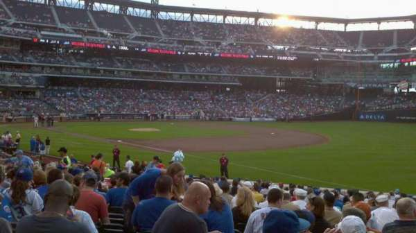 Citi Field, section: 109, row: 20, seat: 14