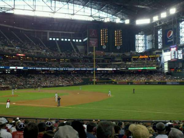 Chase Field, section: 113, row: 26