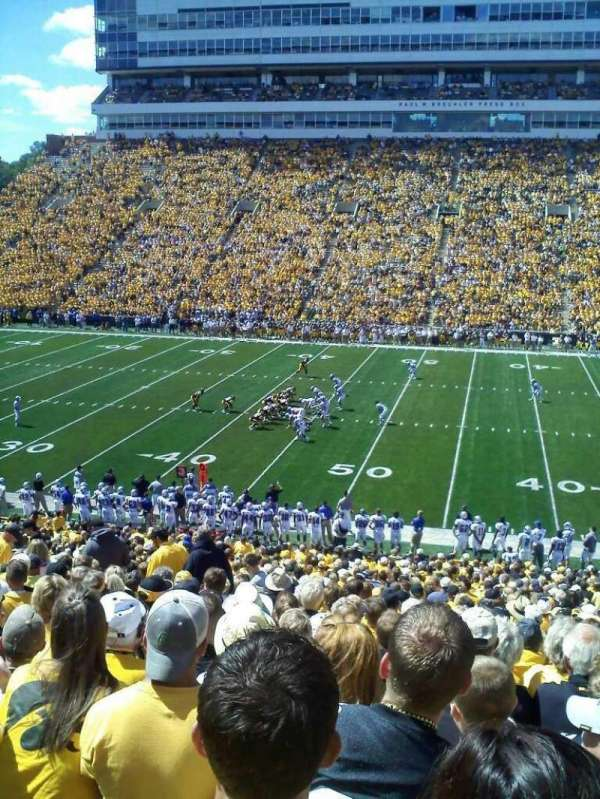 Kinnick Stadium, section: 104