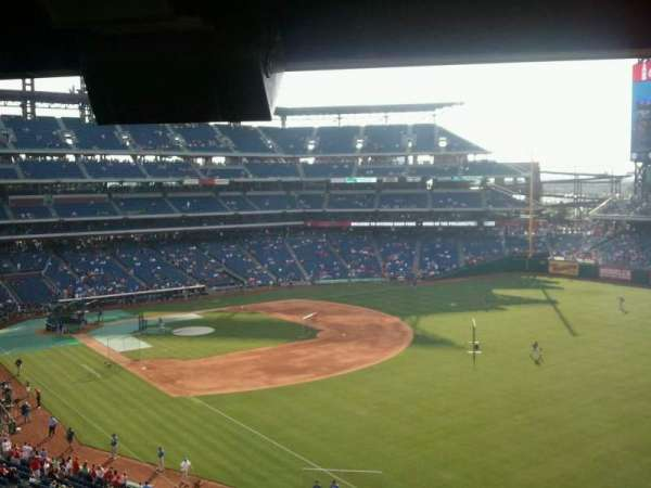 Citizens Bank Park, section: 208, row: 12, seat: 3