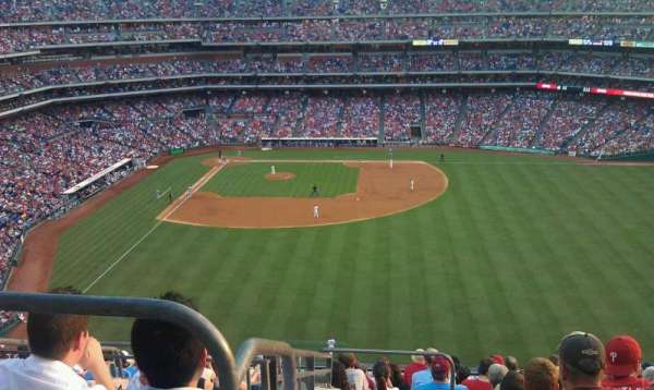Citizens Bank Park, section: 302, row: 13, seat: 22