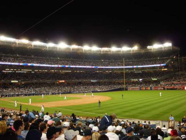 Yankee Stadium, section: 111, row: 24, seat: 5