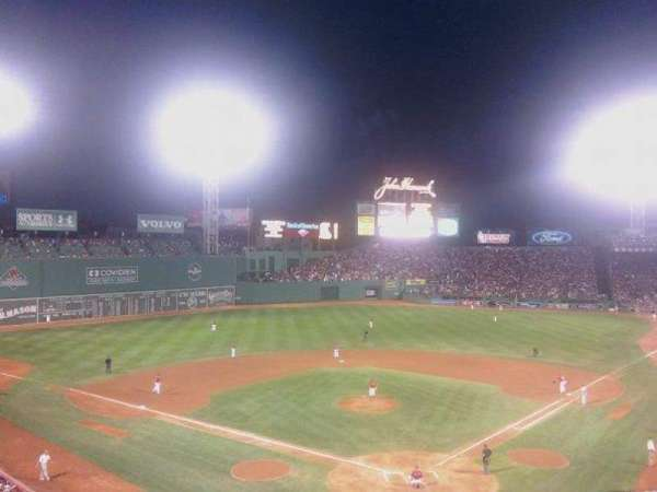 Fenway Park, section: 5, row: 4, seat: 3