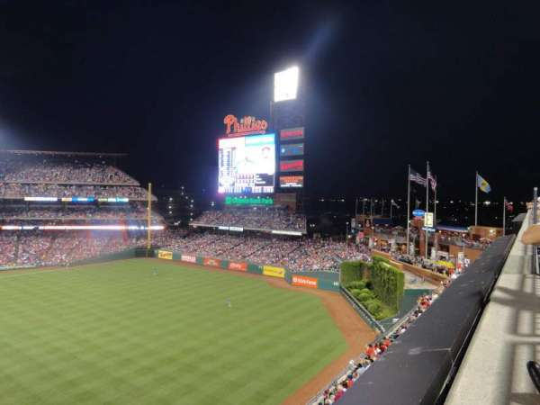 Citizens Bank Park, section: 304, row: 1, seat: 8
