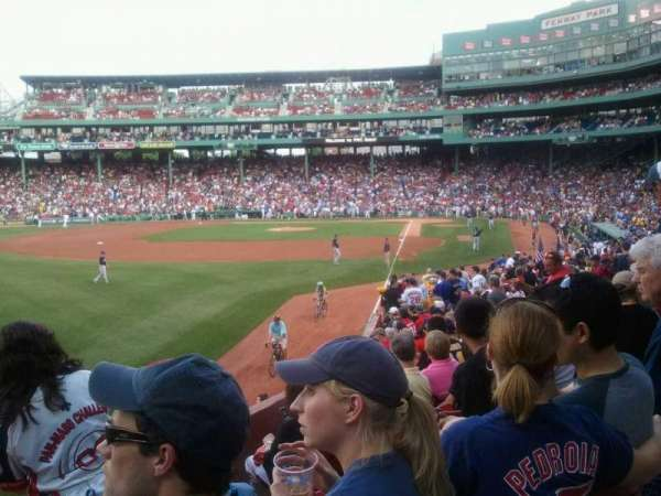 Fenway Park, section: 33-B165, row: Nn, seat: 8