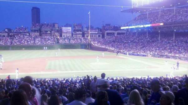 Wrigley Field, section: 212, row: 4, seat: 10