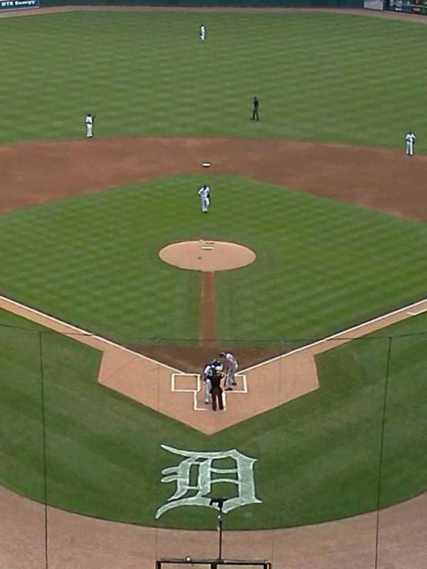 Comerica Park, section: 327, row: 5, seat: 5