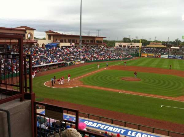 BayCare Ballpark, section: 203, row: 3, seat: 11