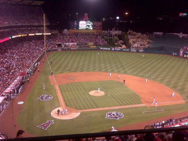 Angel Stadium, section: 524, row: A, seat: A-14