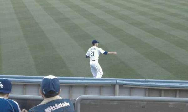 Dodger Stadium, section: 303PL, row: D, seat: 6