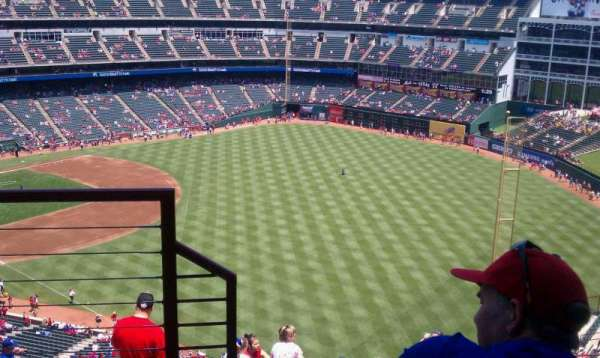 Globe Life Park in Arlington, section: 344, row: 14, seat: 6