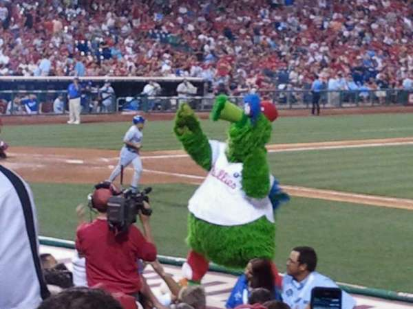 Citizens Bank Park, section: 114, row: 14, seat: 3