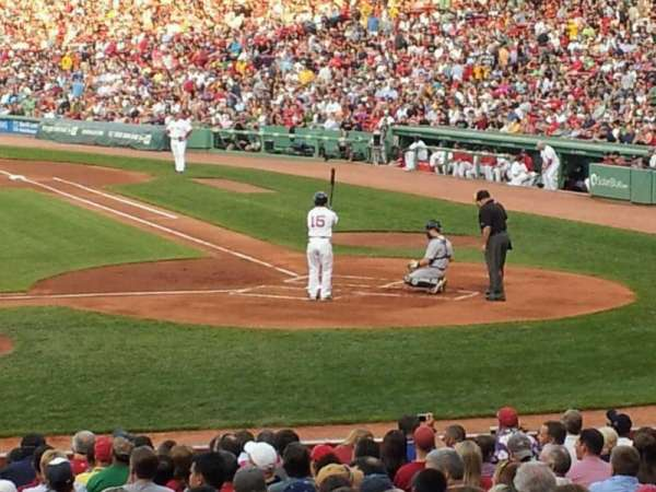 Fenway Park, section: 25-b143, row: hh, seat: 3