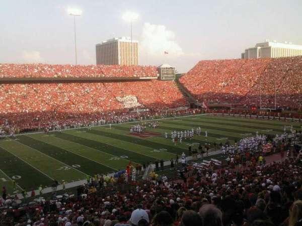Memorial Stadium (Lincoln), section: 10