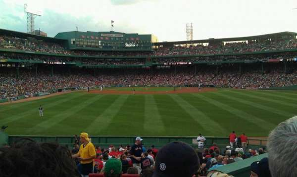 Fenway Park, section: bleacher 39, row: 24, seat: 5