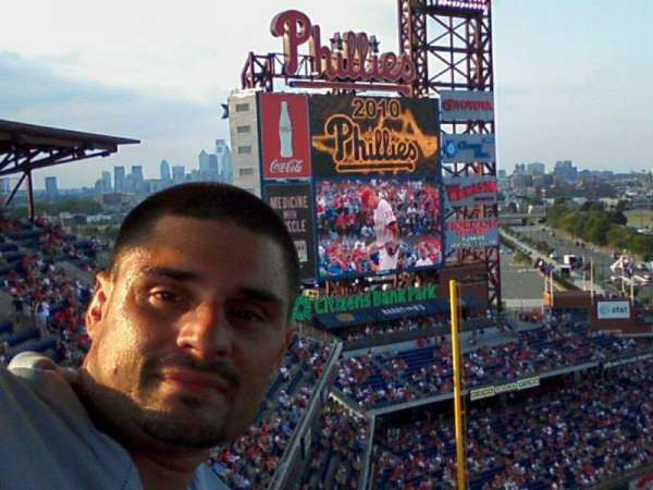 Citizens Bank Park, section: 429, row: 5, seat: 7