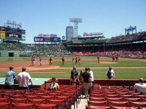 Fenway Park, section: Field Box 60, row: M, seat: 4