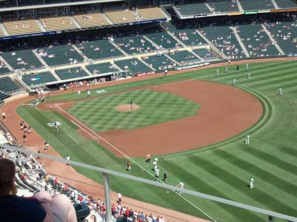 Target Field, section: 302, row: 4, seat: 4