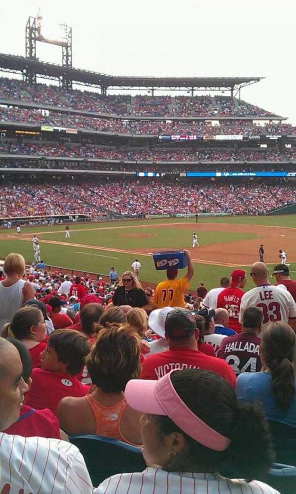 Citizens Bank Park, section: 112, row: 36, seat: 13