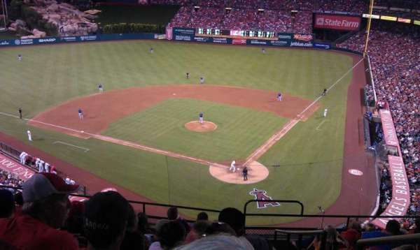 Angel Stadium, section: V415, row: J, seat: 17