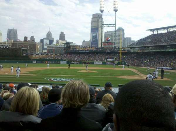 Comerica Park, section: 137, row: 9, seat: 10