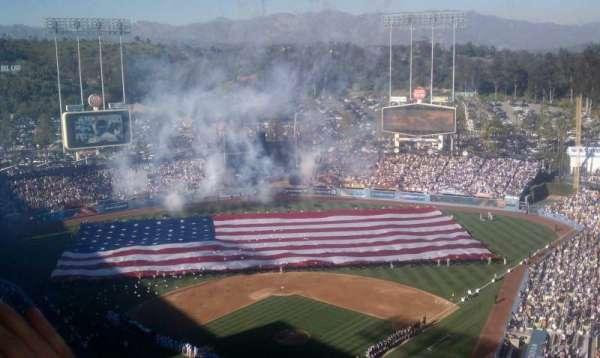 Dodger Stadium, section: 1RS
