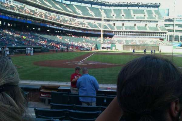 Globe Life Park in Arlington, section: 31, row: 6, seat: 3