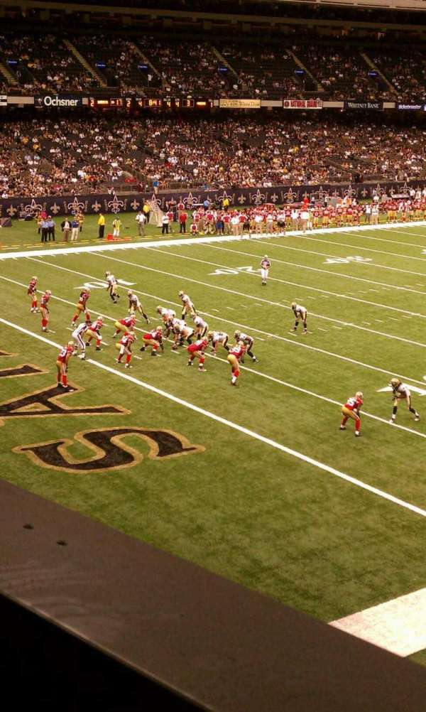 Mercedes-Benz Superdome, section: 277, row: 1, seat: 10