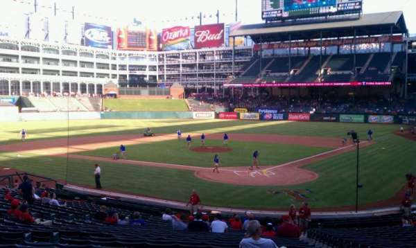 Globe Life Park in Arlington, section: 24, row: 24, seat: 9