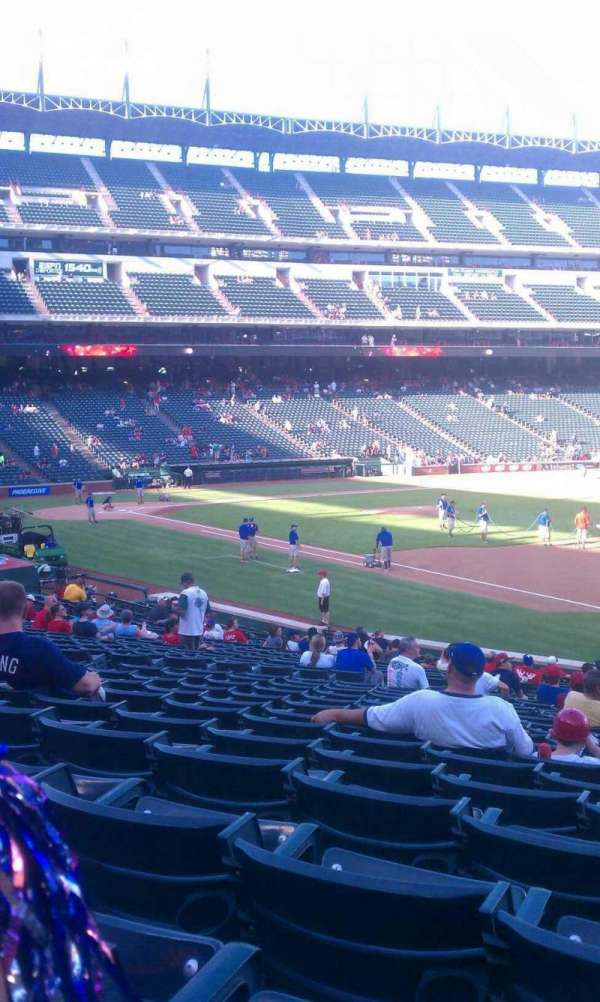 Globe Life Park in Arlington, section: 36, row: 25, seat: 10