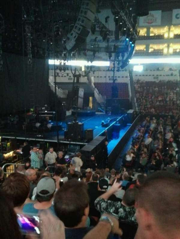 Intrust Bank Arena, section: 118, row: Q, seat: 6