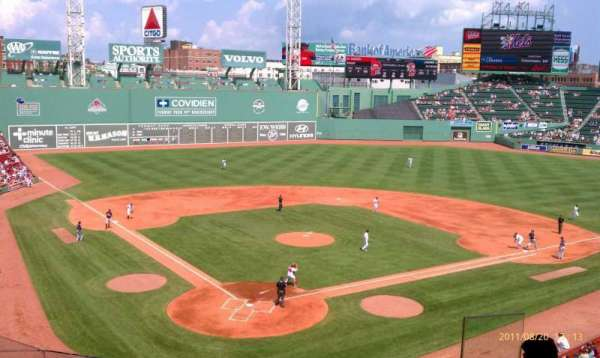 Fenway Park, section: Emc Club 2, row: 6, seat: 6