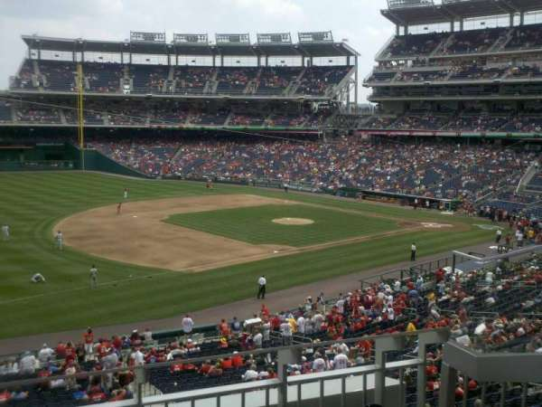 Nationals Park, section: 205, row: C, seat: 4