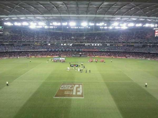 Etihad Stadium (Melbourne), section: 37, row: B
