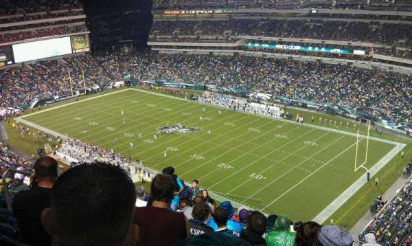 Lincoln Financial Field, section: 231, row: 22, seat: 16