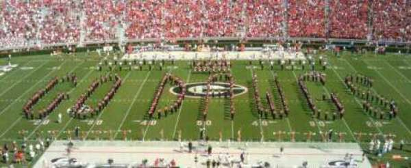Sanford Stadium, section: 331, row: 10, seat: 6