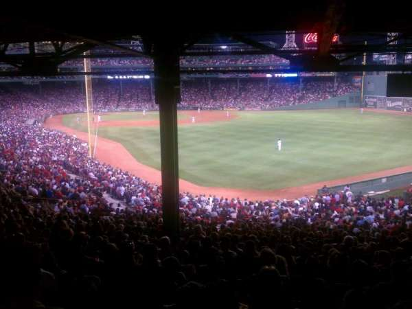 Fenway Park, section: Grandstand 3, row: 18, seat: 20
