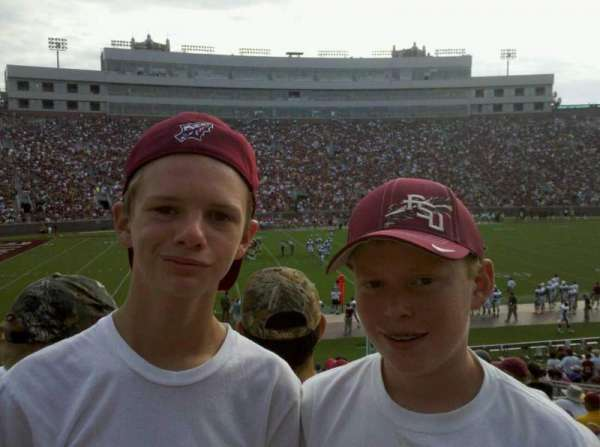 Bobby Bowden Field at Doak Campbell Stadium, section: 12, row: 30, seat: 9