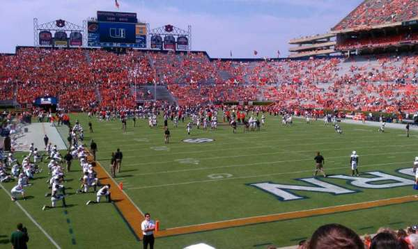Jordan-Hare Stadium, section: 38, row: 20, seat: 11