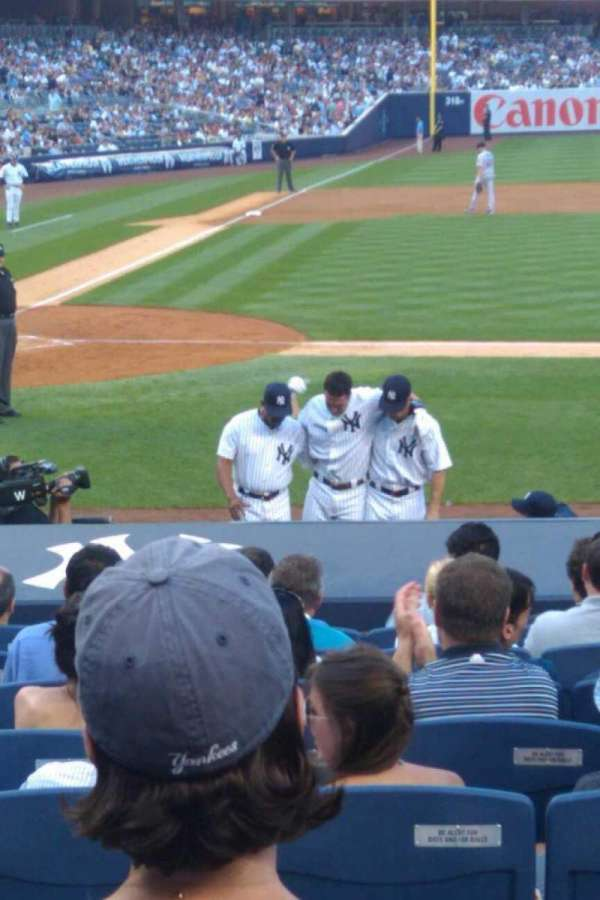Yankee Stadium, section: 114, row: 15