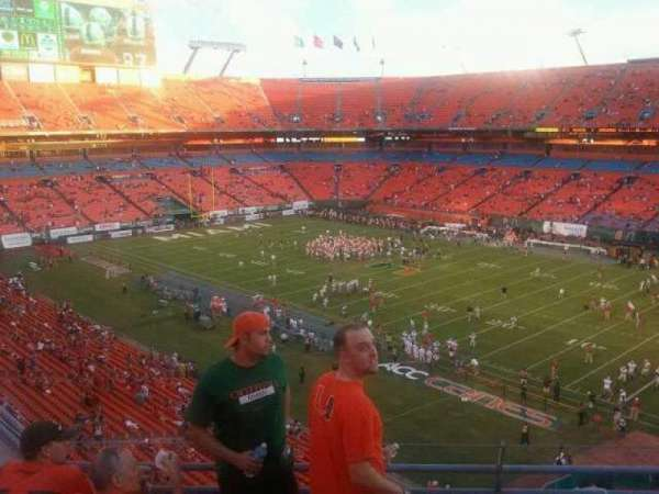 Hard Rock Stadium, section: 405, row: 05, seat: 05