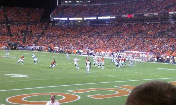 Broncos Stadium at Mile High, section: 116, row: 9, seat: 15