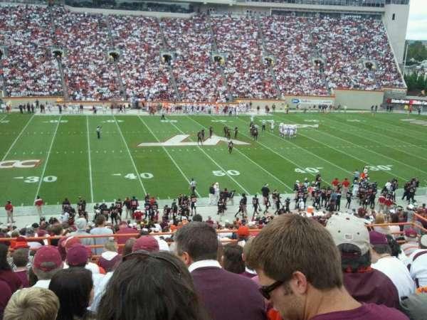 Lane Stadium, section: 13, row: rr, seat: 26