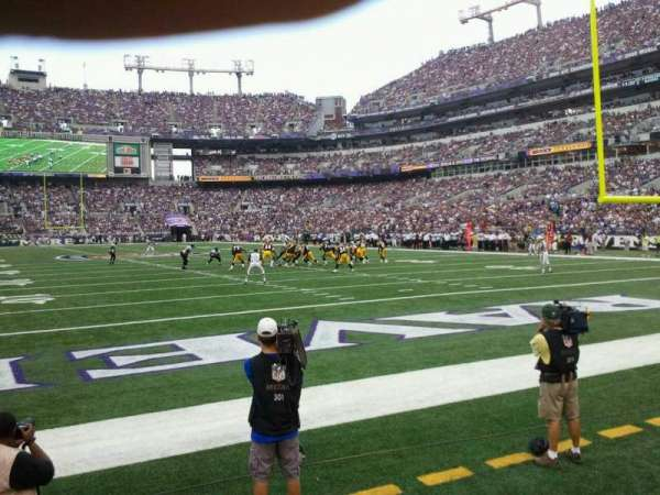 M&T Bank Stadium, section: 141, row: 1, seat: 12