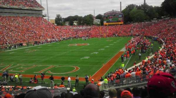 Memorial Stadium, Clemson, section: J