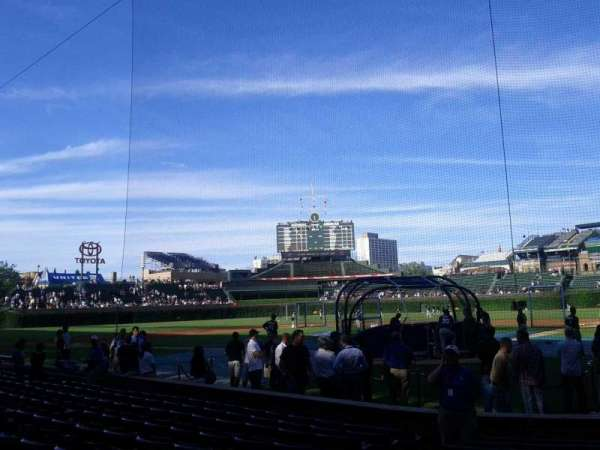 Wrigley Field, section: 18, row: 11, seat: 4