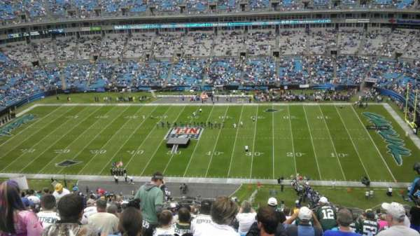 Bank of America Stadium, section: 513, row: 25, seat: 10