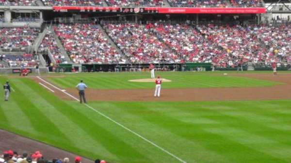 Nationals Park, section: 137, row: cc, seat: 22