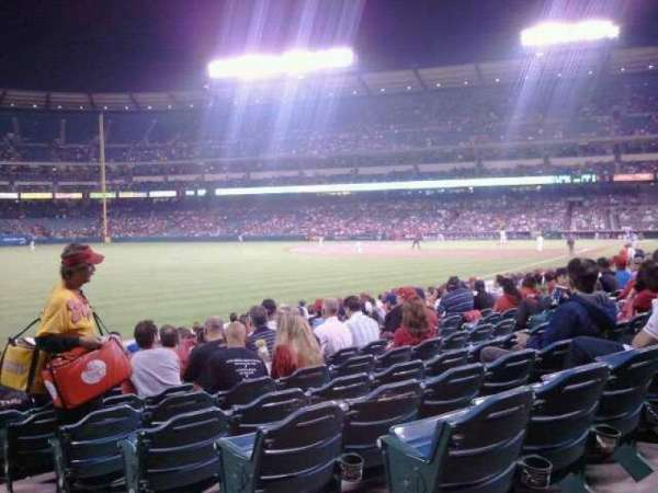 Angel Stadium, section: F103, row: R, seat: 21